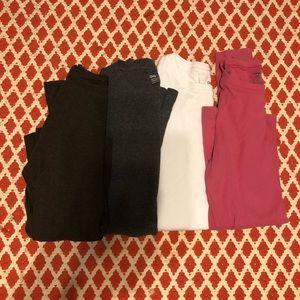 Gap long sleeve favorite Tee lot - crew neck